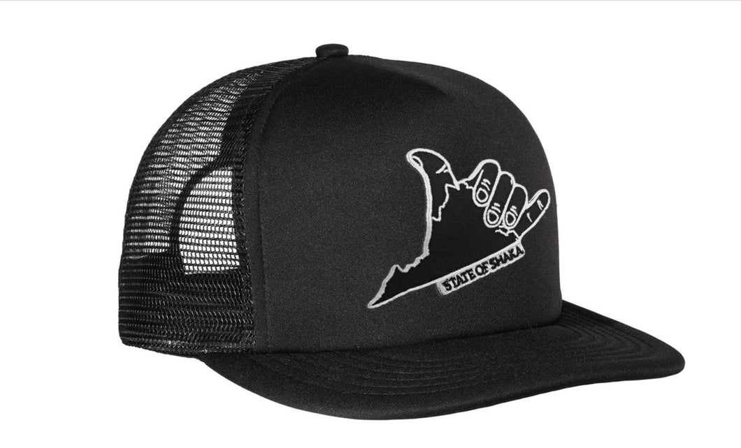 SHAKA VA TRUCKER PATCH HAT