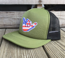 Load image into Gallery viewer, Shaka in the USA Patch Hat