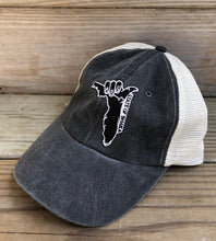 Load image into Gallery viewer, Shaka FL Unstructured Trucker Patch Hat