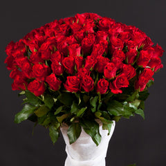 One Hundred Red Roses