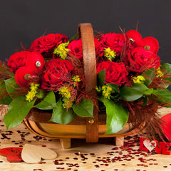 Hearts & Flowers Trug