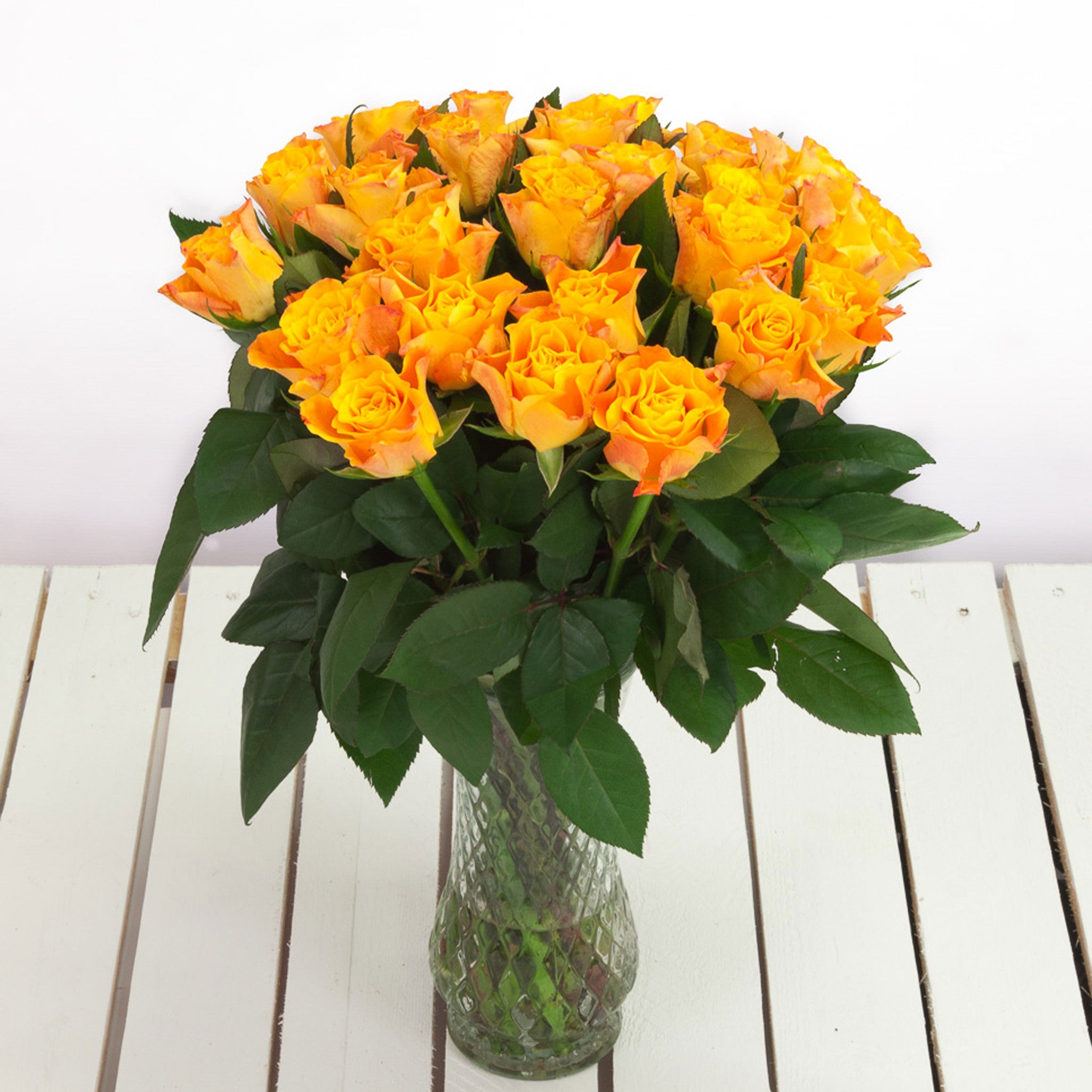 Cheap Orange Roses Flower Bouquets Next Day Delivery – Valueflora