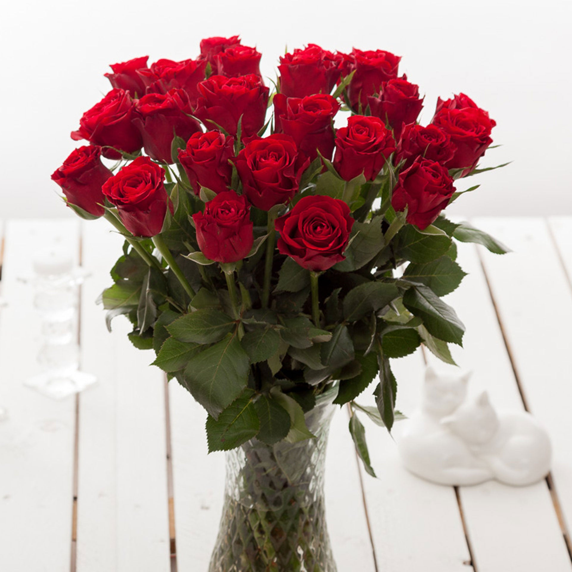 Cheap Red Roses Flower Bouquets Next Day Delivery Valueflora