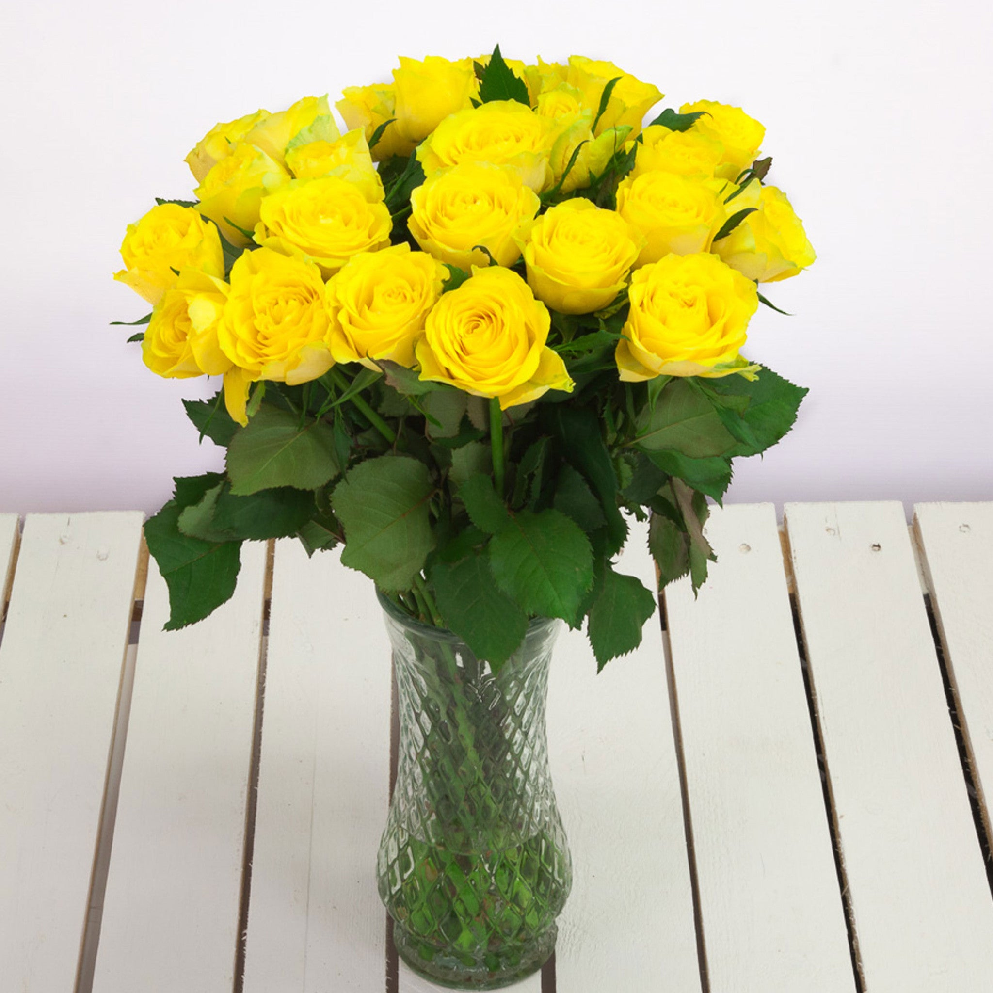 Cheap Yellow Roses Flower Bouquets Next Day Delivery Valueflora