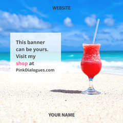 10 or 20 Happy Summer Social Media Banners