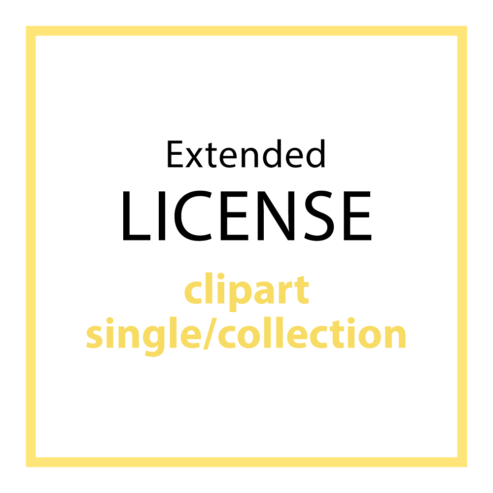 EXTENDED LICENSE (CLIPART)