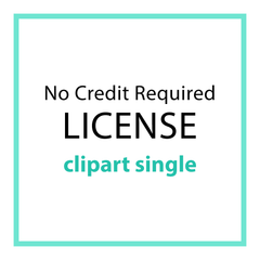 NO CREDIT REQUIRED LICENSE (SINGLE)
