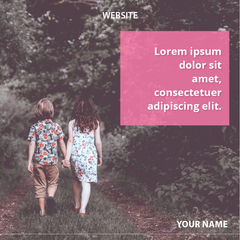 10 or 20 Love & Nature Social Media Banners
