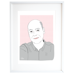 Simple Digital Portrait | Apeteces-me® (PRINT + DIGITAL)