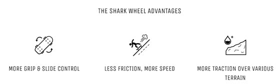 Shark Wheel Advantages