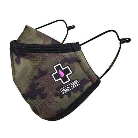 Muc-Off - Reusable Face Mask - Dr X Camo - Kids