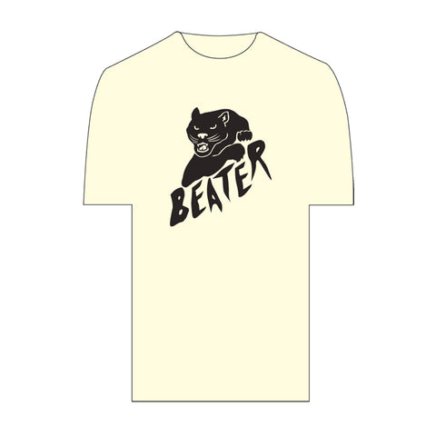 Catch Surf - Black Cat Tee ~ Ivory - Large
