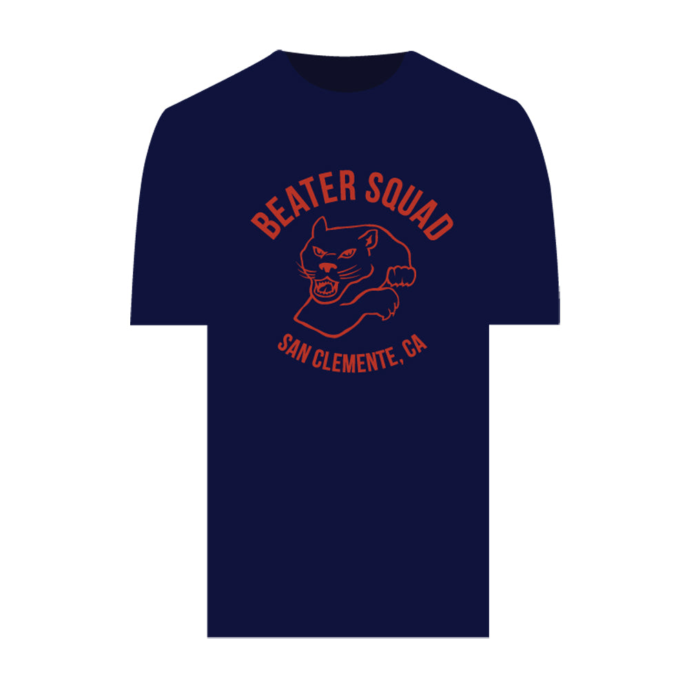 Catch Surf - Beater Squad Tee ~ Midnight Blue - Large