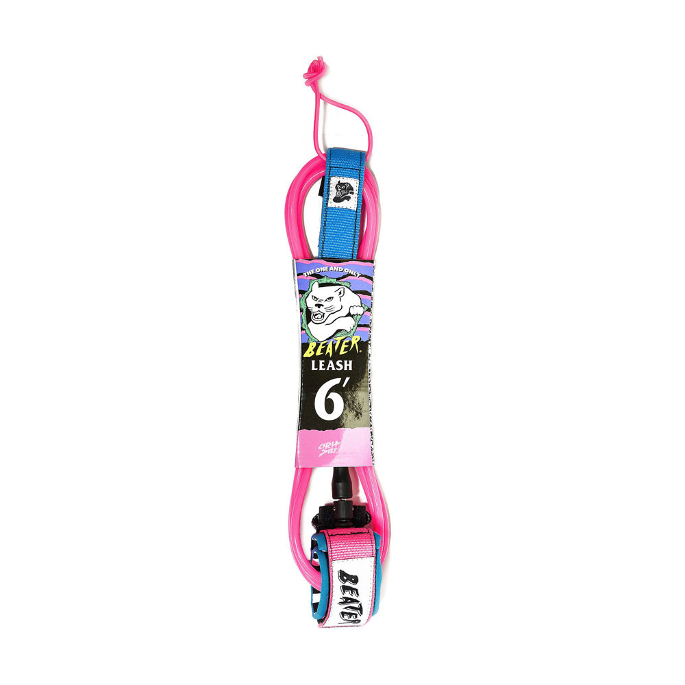 Catch Surf - Catch Surf - Beater 6' Leash - Pink/Blue - Products - The Mysto Spot