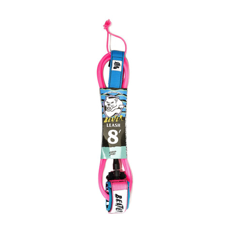 Catch Surf - Beater 8' Leash - Pink/Blue