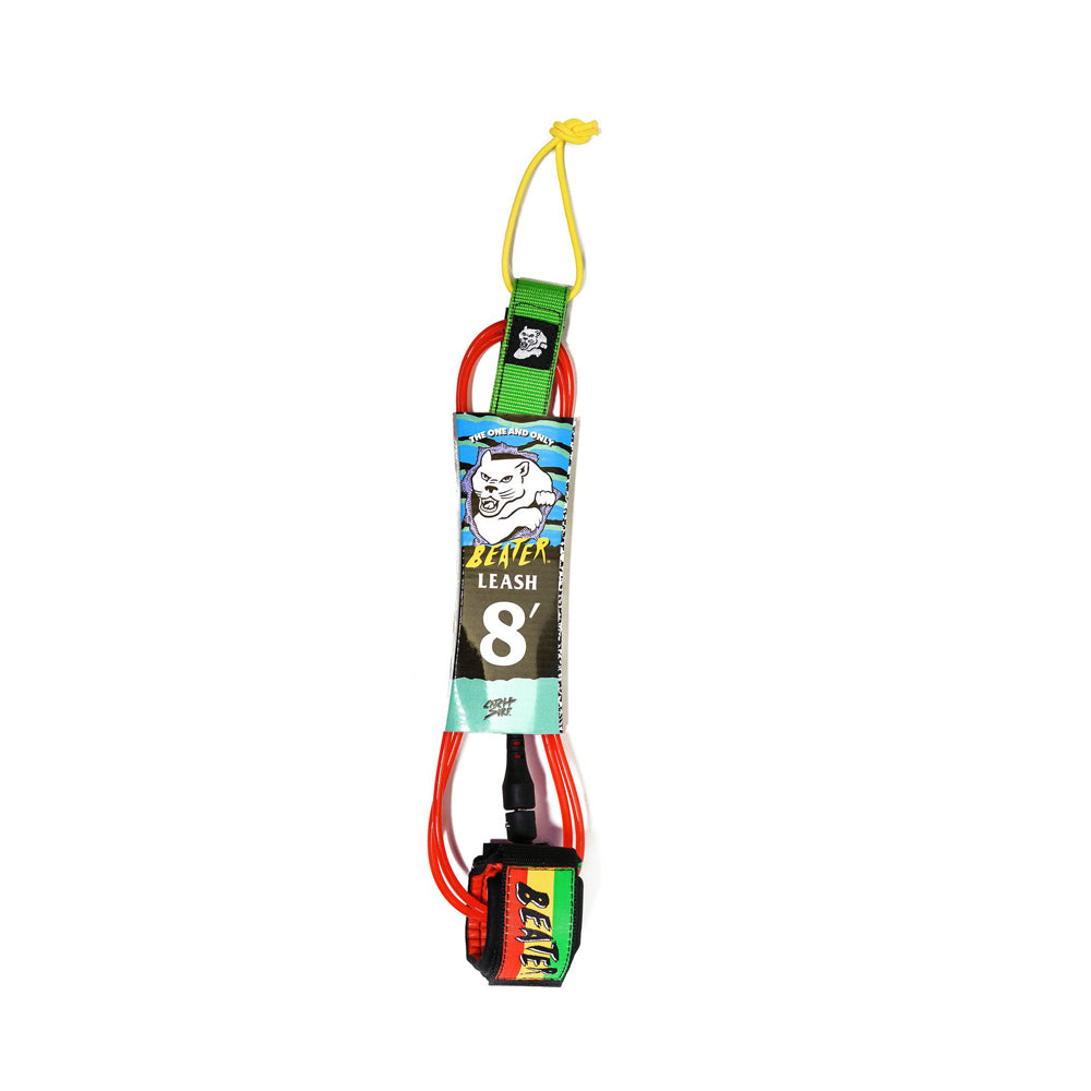 Catch Surf - Catch Surf - Beater 8' Leash - Rasta - Products - The Mysto Spot