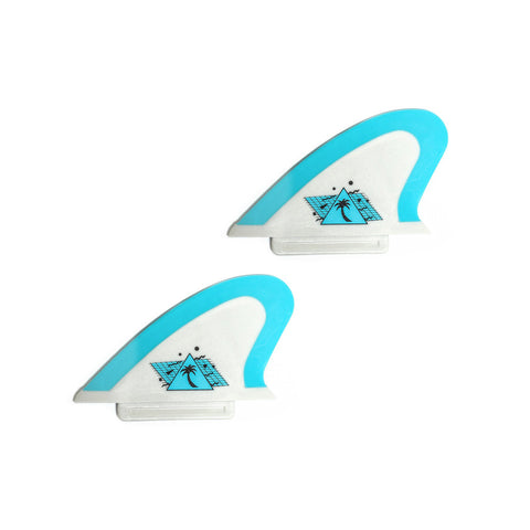 Catch Surf - Catch Surf - Beater Pro Safety Edge Twin Fin Kit - Grey/Cool Blue - Products - The Mysto Spot