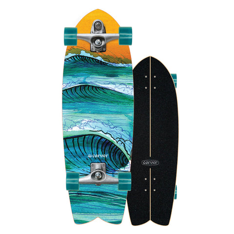 "Carver Skateboards - 29.5"" Swallow - C7 Complete"