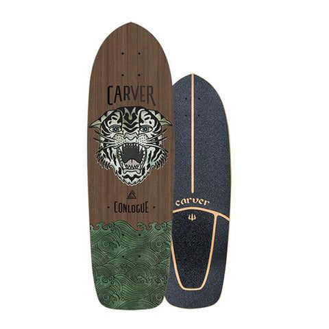 "Carver Skateboards - 29.5"" Courtney Conlogue Sea Tiger - Deck Only"