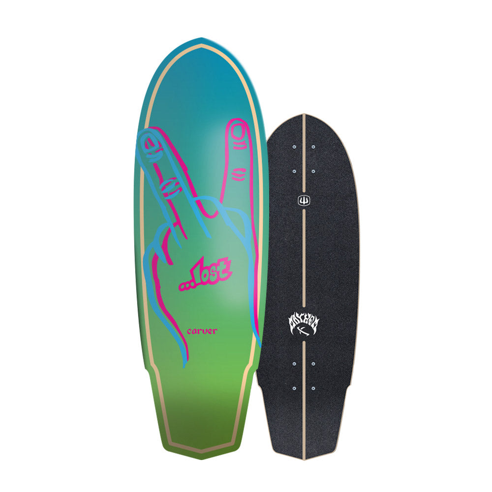 "Carver - Carver Skateboards - ...Lost 31"" Plank - Deck Only - Products - The Mysto Spot"