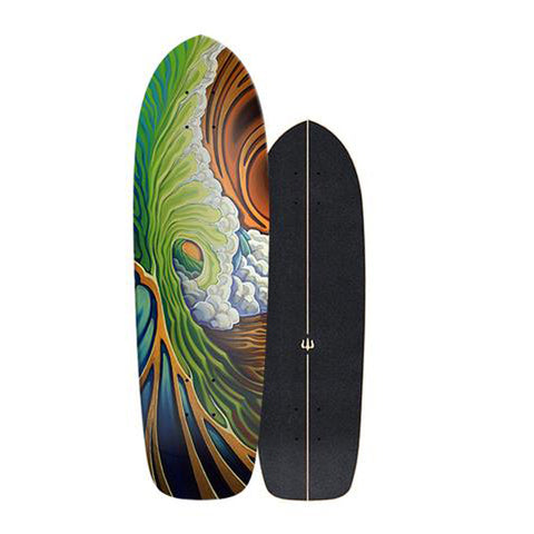 "Carver - Carver Skateboards - 33.75"" Greenroom - Deck Only - Products - The Mysto Spot"