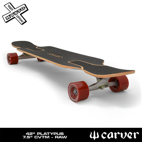 "Carver - Carver Skateboards - 42"" Platypus - Deck Only - Products - The Mysto Spot"
