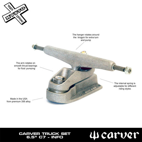 "Carver - Carver Skateboards - 30.75"" CI Flyer - C7 Complete - Products - The Mysto Spot"