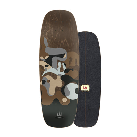 "Carver Skateboards - 27.5"" Grey Ray - Deck Only"
