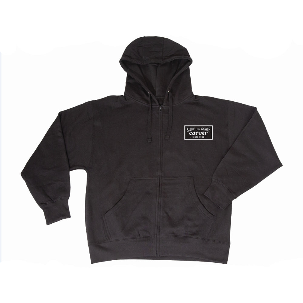 Carver - Carver Skateboards - 'Standard Issue' Zip Hoodie - Products - The Mysto Spot