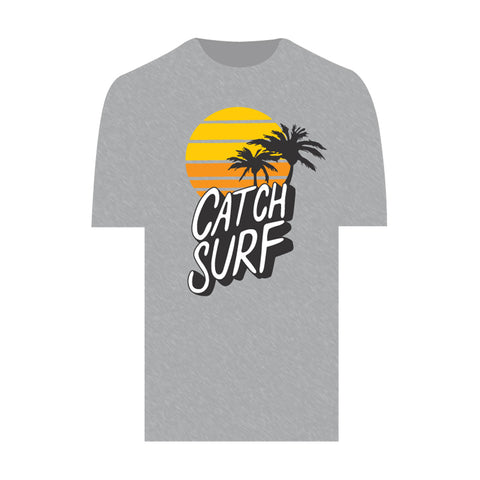 Catch Surf - Sunset Tee ~ Heather Grey - Large