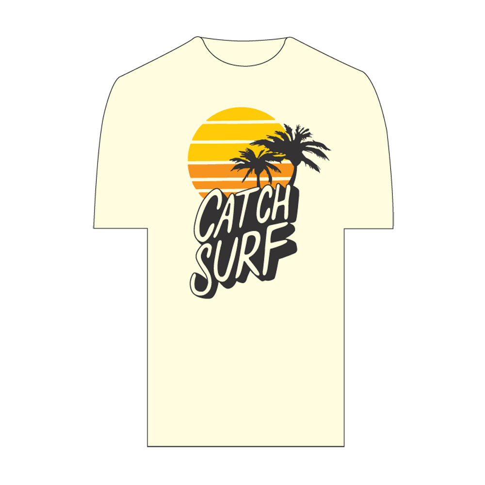 Catch Surf - Sunset Tee ~ Ivory - Large - The Mysto Spot