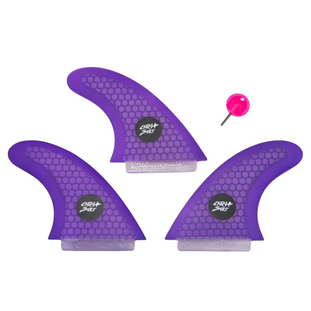 Catch Surf - Catch Surf - Ultra Hi-Perf Tri Fin Kit - Purple - Products - The Mysto Spot