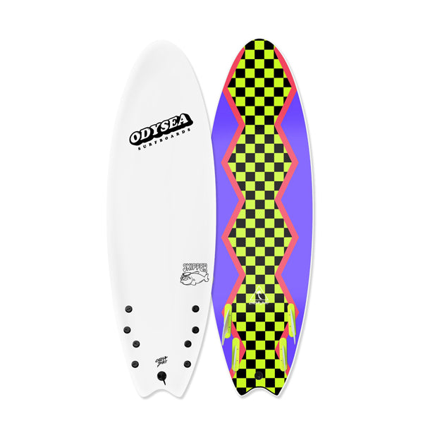 "Catch Surf - Catch Surf - Odysea 6'0"" Skipper - White - Products - The Mysto Spot"