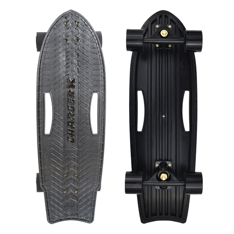 "Charger-X 28"" Surfskate - Carbon"