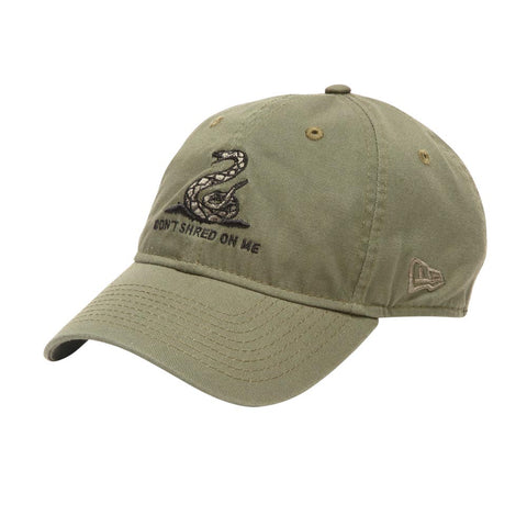 Catch Surf - Catch Surf - New Era Don't Shred On Me Cap - Olive - Products - The Mysto Spot