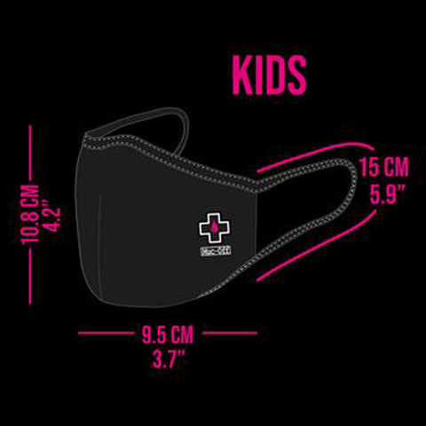 Muc-Off - Reusable Face Mask - Dr X Bolt - Kids