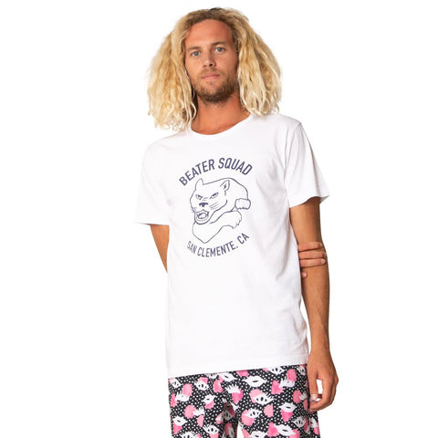 Catch Surf - Catch Surf - Beater Squad S/S Tee ~ White - Products - The Mysto Spot