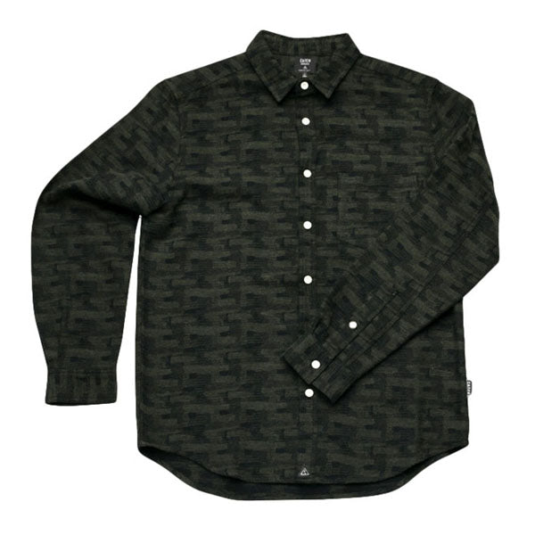Catch Surf - Catch Surf - Rainier L/S Flannel - Green - XL - Products - The Mysto Spot