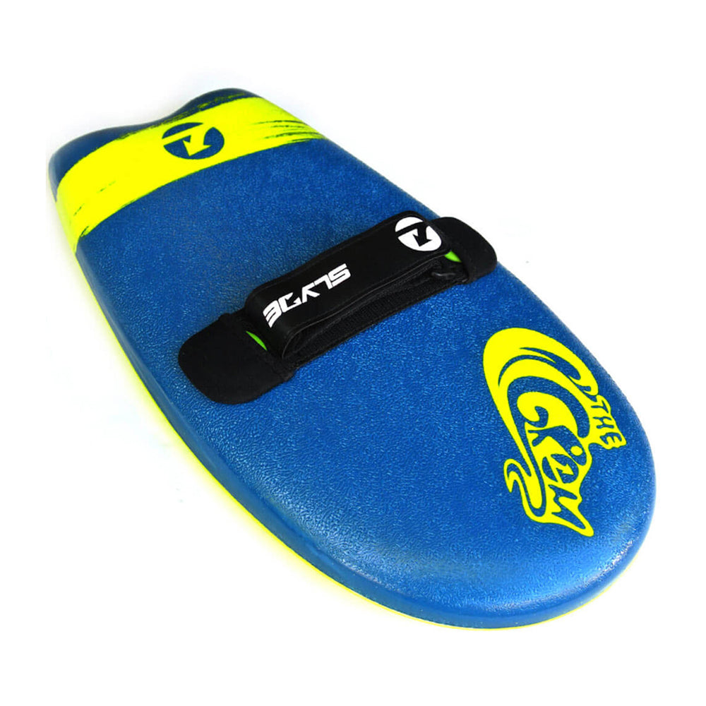 Slyde Handboards - The Grom - Navy & Lemon