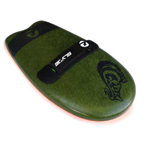 Slyde Handboards - Slyde Handboards - The Grom - Army Green & Pilsner - Products - The Mysto Spot