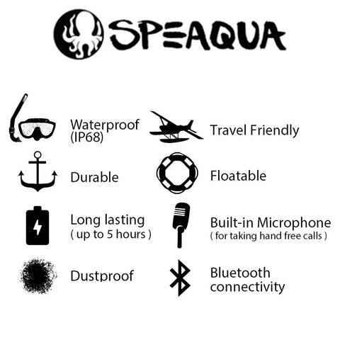 Speaqua - Barnacle Speaker - The Pearl - The Mysto Spot