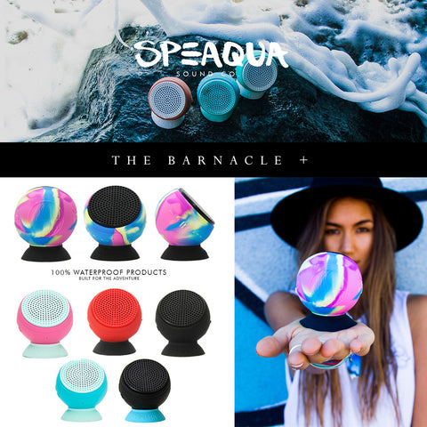 Speaqua - Speaqua - Barnacle+ Speaker - Aloha Blue - Products - The Mysto Spot