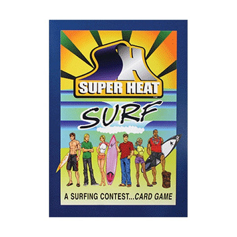 Super Heat - Super Heat - Surf - Card Game - Products - The Mysto Spot