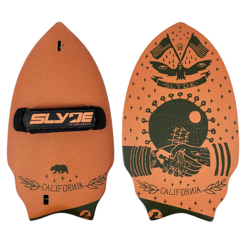Slyde Handboards - Wedge - Californian Pilsner