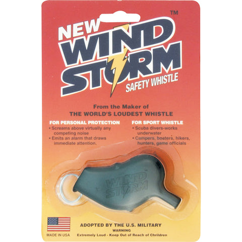 Storm Whistles - The Windstorm - Black