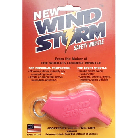 Storm Whistles - The Windstorm - Pink
