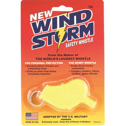 Storm Whistles - The Windstorm - Yellow