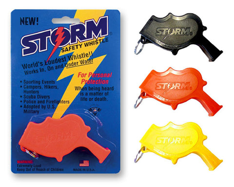 Storm Whistles - Storm Whistles - The Storm - Orange - Products - The Mysto Spot