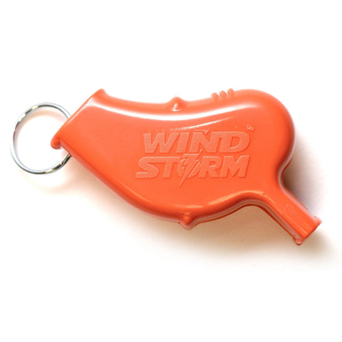 Storm Whistles - Storm Whistles - The Windstorm - Orange - Products - The Mysto Spot