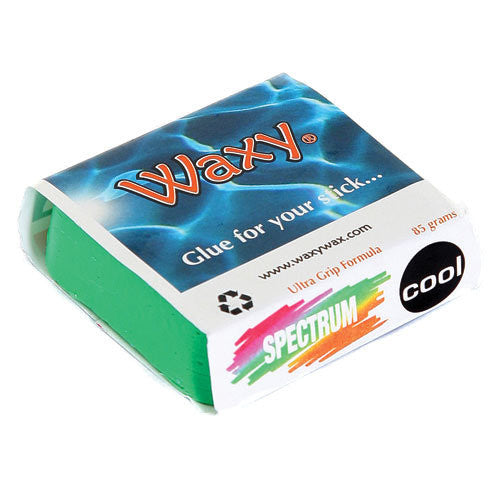 Waxy Wax - Coloured Surf Wax - Tropic/Base - The Mysto Spot  - 4